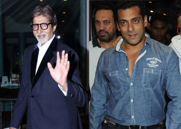 Big B, Salman attend <i>Ferrari Ki Sawaari</i> success bash