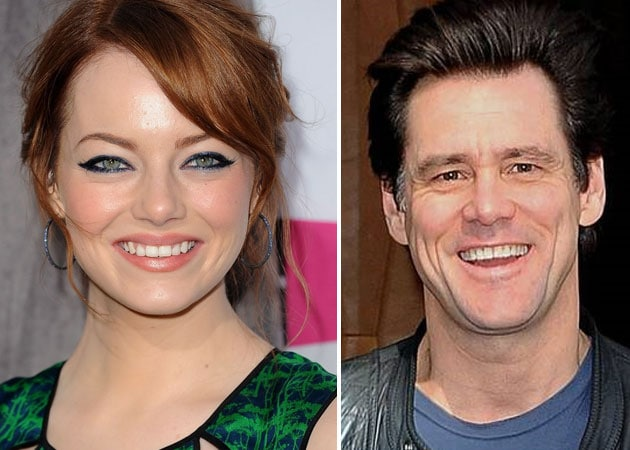 Emma Stone flattered by Jim Carrey's love message