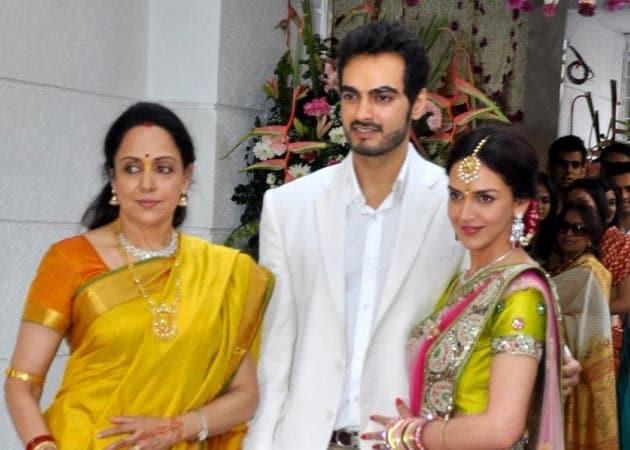 A South Indian wedding with Kanjivarams for Esha Deol, says Hema Malini