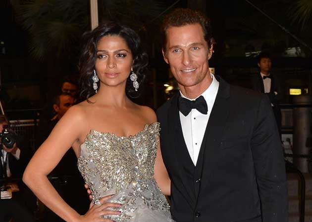 Camilla Alves didn't initially say yes when Matthew McConoughey proposed to her
