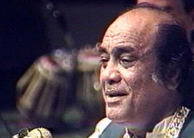 Ghazal king Mehdi Hassan dies in Karachi