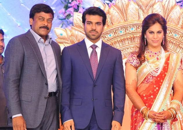 After grand wedding, a grand reception for Ram Charan Teja and Upasana