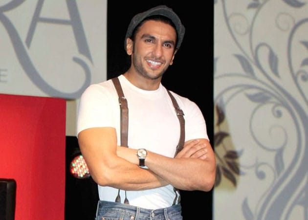 Injured Ranveer Singh is ready for action, again