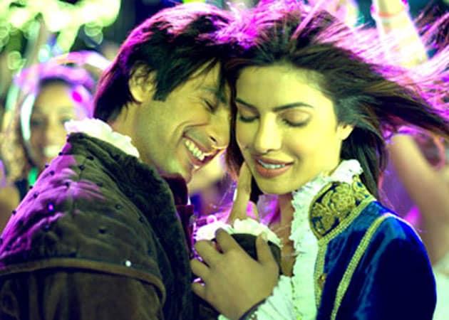 Shahid and Priyanka's <i>Teri Meri Kahaani</i> releases today