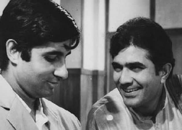 "How Rajesh Khanna gave Amitabh Bachchan a ""tutorial in acting"""