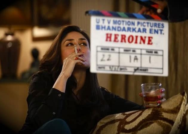 Kareena's smoking scenes cut from <i>Heroine</i> trailer