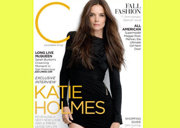 Sexy and single: The reinvention of Katie Holmes
