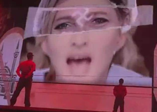 France's National Front to sue Madonna over Le Pen swastika