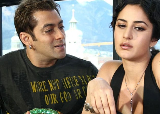 Why does Salman make fun of Katrina?