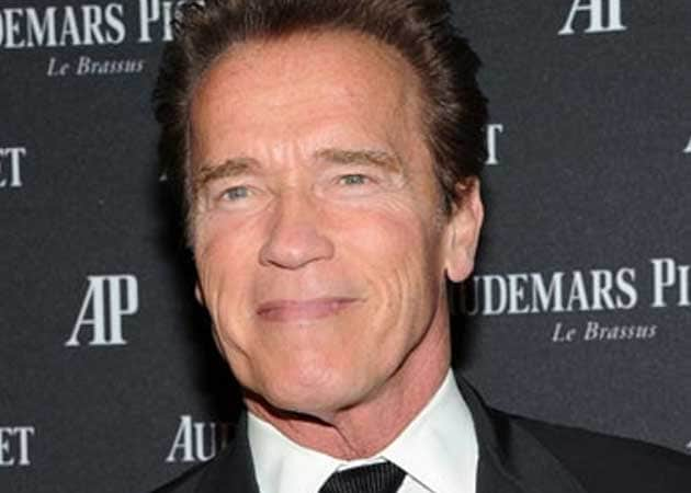 Arnold Schwarzenegger finds it hard to stay in shape