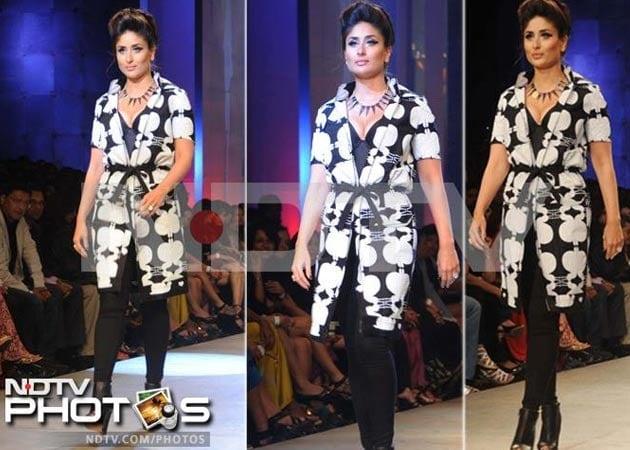 Kareena Kapoor's lonely walk down the runway