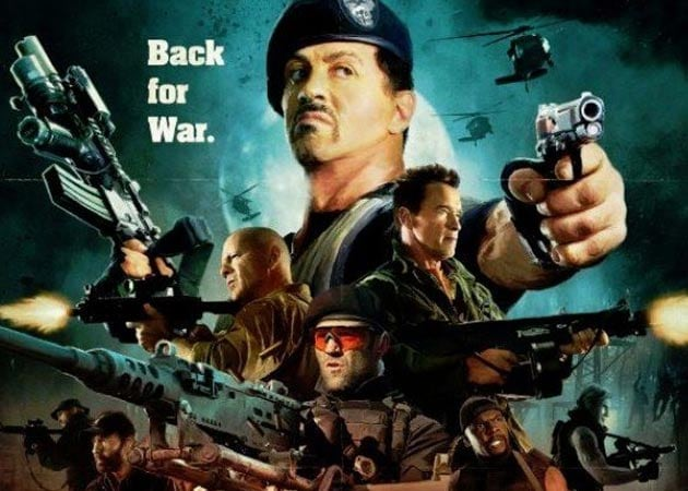 Today's big Hollywood release: The Expendables 2