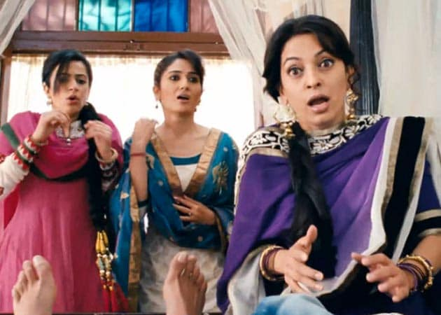 Happy to be back in funny roles: Juhi Chawla