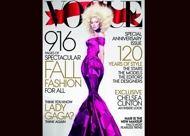 """Irresponsible"" Lady Gaga leaks Vogue cover"