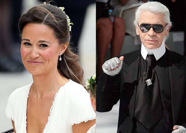 I don't like Pippa Middleton's face: Karl Lagerfeld
