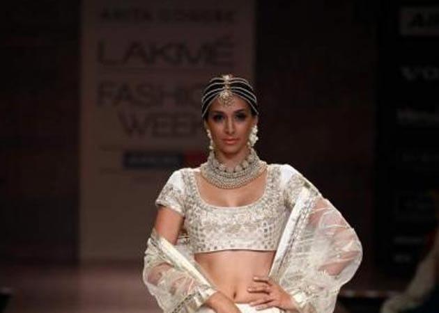 Fashion week report: Pristine Preeti Desai is Anita Dongre's showstopper