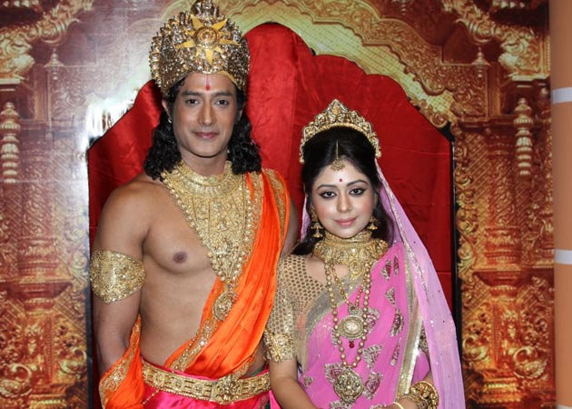 Meet television's new Ram and Sita