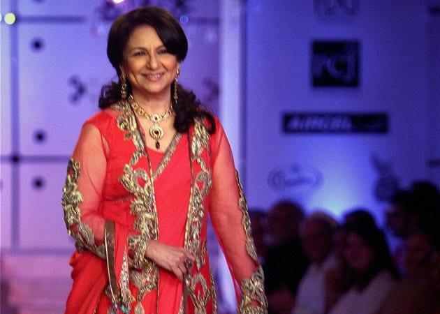 Walking the ramp is fun for me: Sharmila Tagore