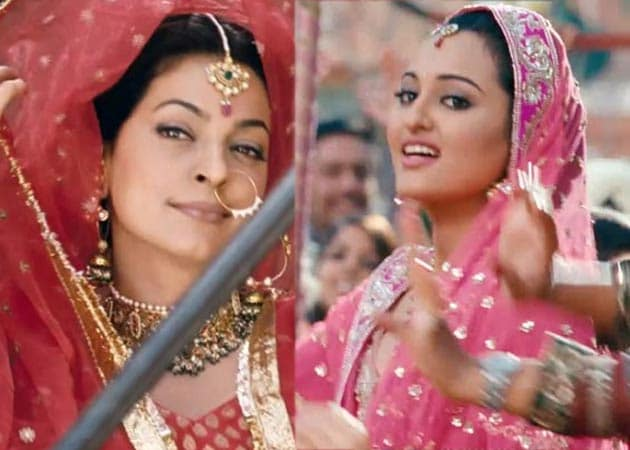Did Sonakshi Sinha and Juhi Chawla have a tiff over a make-up van?