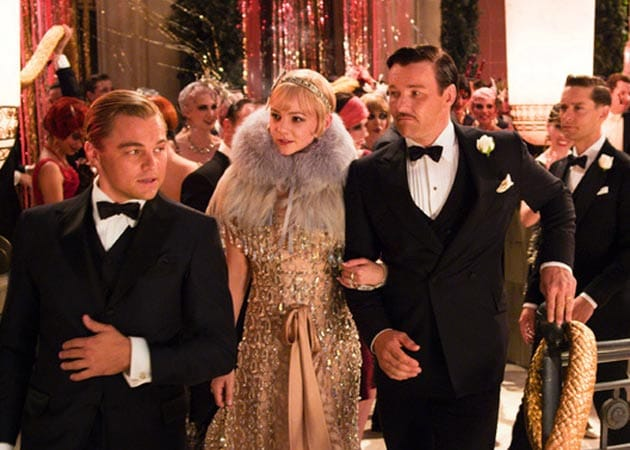Amitabh Bachchan and <i>The Great Gatsby</i> co-stars were costumed by Prada