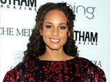 """Alicia Keys feels blessed she has a """"good"""" child"""