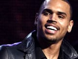 Chris Brown meets domestic violence victims