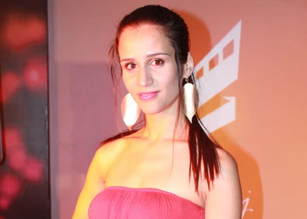French actress Christie Bourcq grooves to Marathi song
