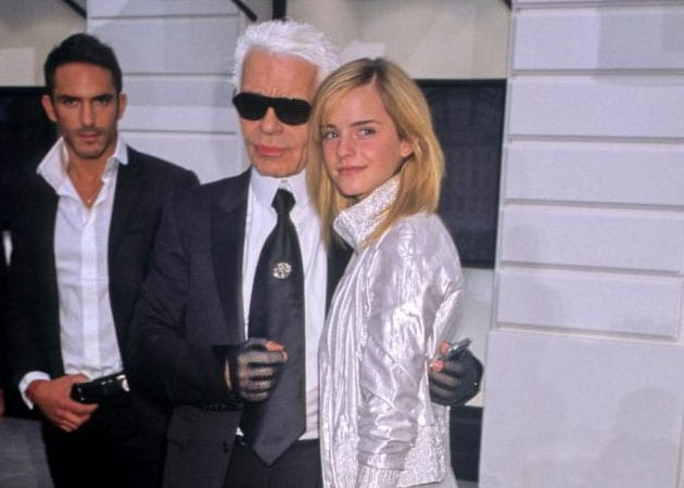 Karl Lagerfeld gifts Emma Watson a fishing rod on her birthday