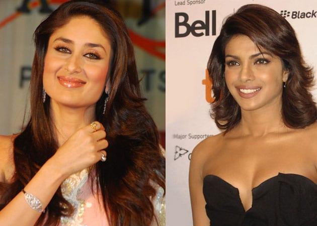 Kareena Kapoor is a 'big fan of Priyanka and her voice'