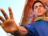 Nobody doubles for 'action star' Akshay Kumar