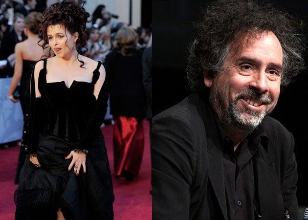 Helena Bonham Carter and Tim Burton finally living together