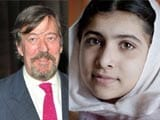 Stephen Fry supports Malala, asks fans to sign petition