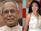 Pranab Mukherjee's movie date with Rituparna Sengupta