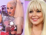 "Lady Gaga thinks Lindsay Lohan is a ""great"" actress"
