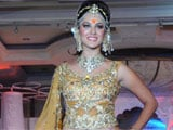 Sunny Leone makes Indian ramp debut