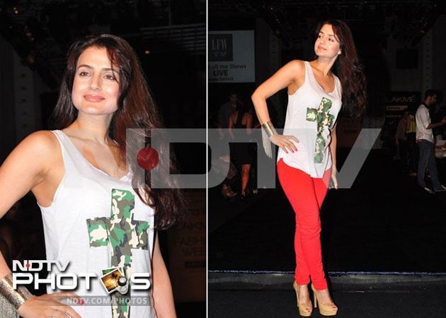 Ameesha Patel walks out of Singh Sahab The Great