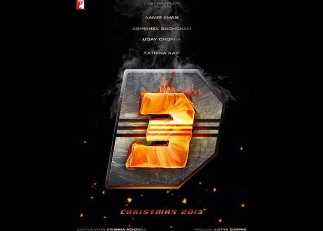 Unveiled: the first poster of Dhoom 3