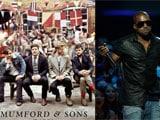 Mumford & Sons, Kanye West, Jay Z lead Grammy nominations
