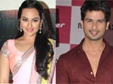 Sonakshi excited about dancing with Shahid Kapoor in <i>Namak</i>