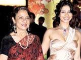 Tanishaa Mukherji gets a sparkling gift from mom Tanuja