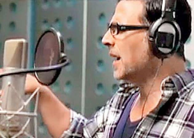 Akshay Kumar sings for Special Chabbis