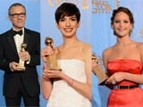 Jennifer Lawrence, Anne Hathaway, Christoph Waltz win acting awards at Golden Globe 2013