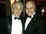 Anupam Kher attends SAG Awards with Robert De Niro