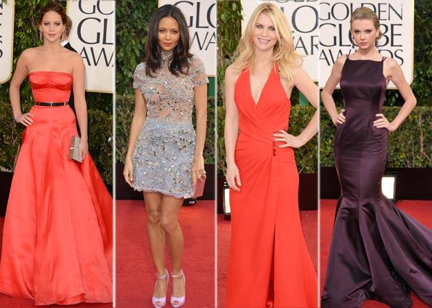 Stars begin arriving at Golden Globes 2013