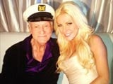 At 86, Hugh Hefner wants baby with wife Crystal Harris