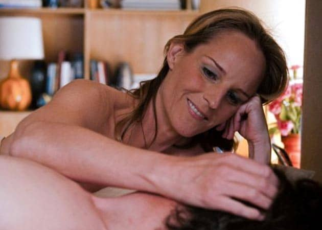 Being naked was nerve-racking: Helen Hunt