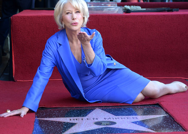 Helen Mirren gets star on Hollywood Walk of Fame