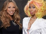 Mariah Carey renews feud with Nicki Minaj over eye shadow