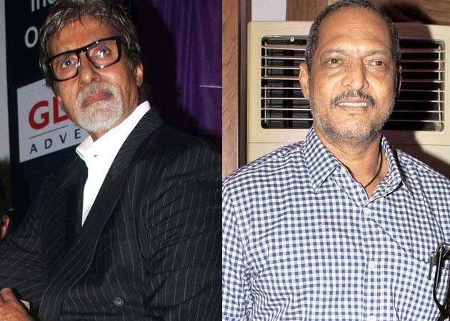 Amitabh Bachchan's big surprise for Nana Patekar
