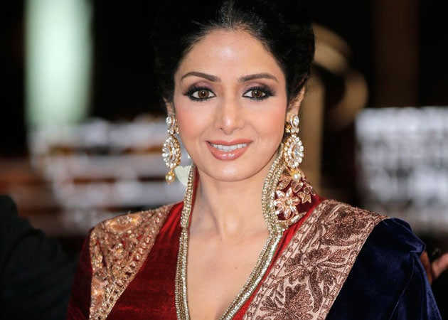 Thanks, says Sridevi on being named for Padma Shri